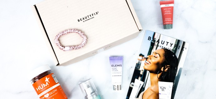 BeautyFIX January 2020 Subscription Box Review