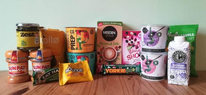 DegustaBox UK January 2020 Subscription Box Review + Coupon!