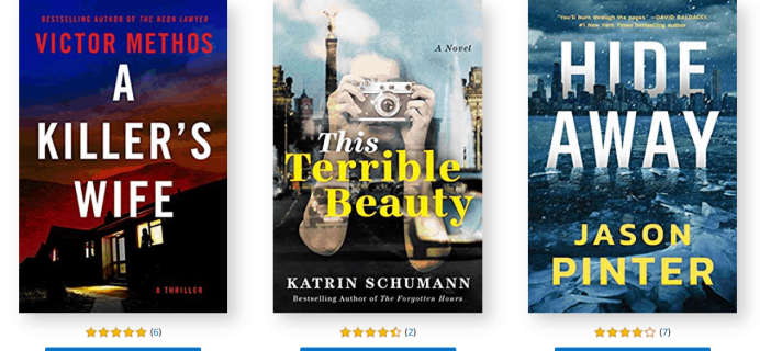 Amazon First ReadsFebruary 2020 Selections: 1 Book FREE for Amazon Prime Members