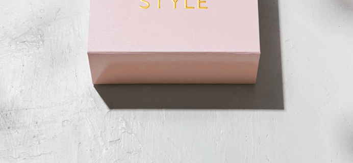 Box of Style by Rachel Zoe Fall 2020 Spoiler Hint #2 + Coupon!