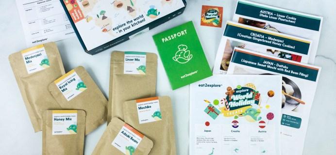 Eat2Explore Subscription Box Review + Coupon – HOLIDAY TREATS Box