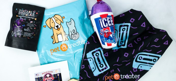 Pet Treater Dog Pack January 2020 Subscription Box Review + Coupon