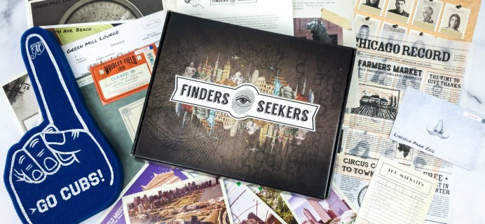 Finders Seekers Subscription Box Review + Coupon – CHICAGO