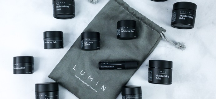 Lumin Men's Skincare Subscription Review + FREE Trial Coupon
