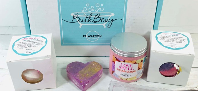 Bath Bevy February 2020 Subscription Box Review + Coupon