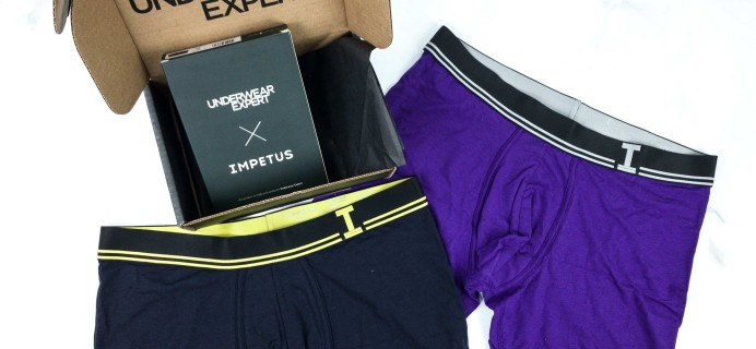 Underwear Expert January 2020 Subscription Box Review + Coupon