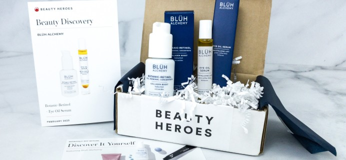 Beauty Heroes February 2020 Subscription Box Review