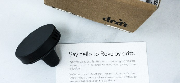 Drift Car Freshener Subscription Review & Coupon – ROVE