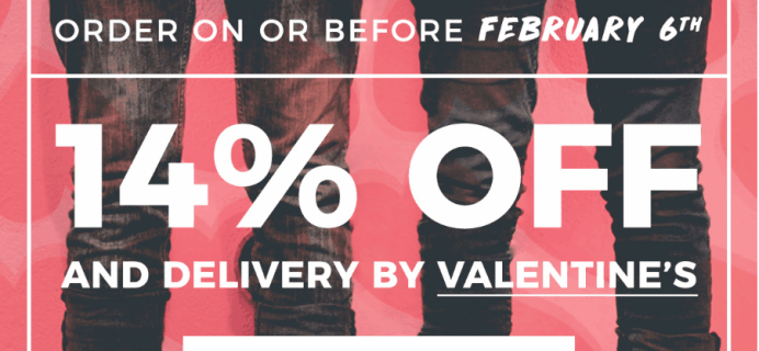 Sock Fancy Valentine's Day Sale: Get 14% OFF & More!