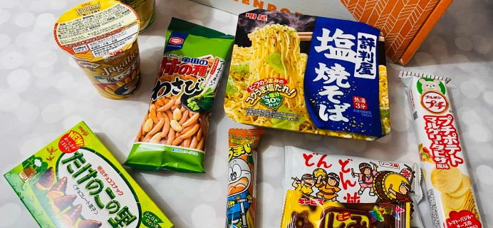 ZenPop Japanese Packs February 2020 Review + Coupon – Ramen and Sweets Box