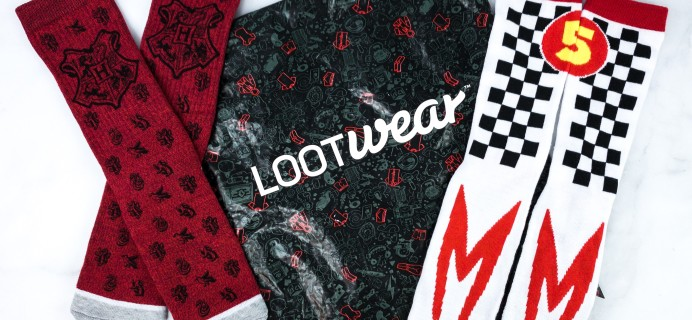 Loot Socks by Loot Crate July 2019 Review & Coupon