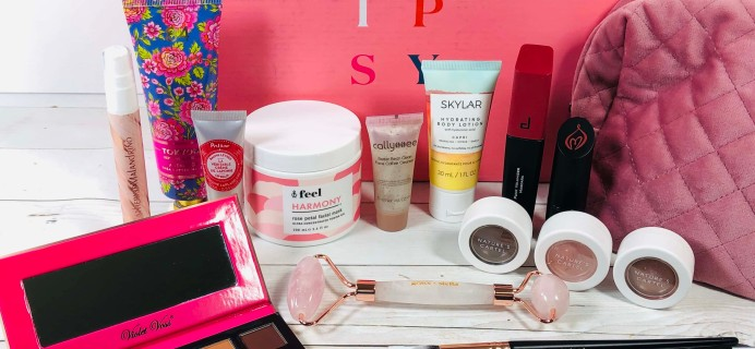 Ipsy Glam Bag Ultimate February 2020 Review