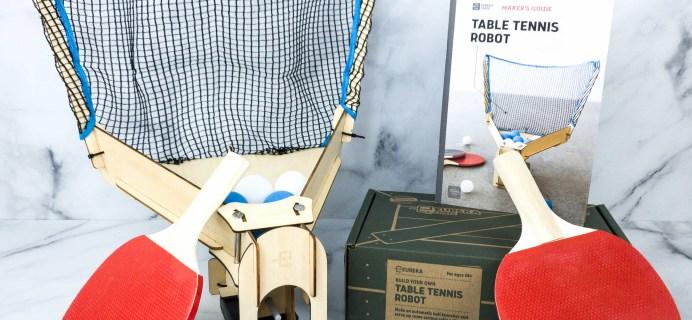Eureka Crate Review + Coupon – TABLE TENNIS