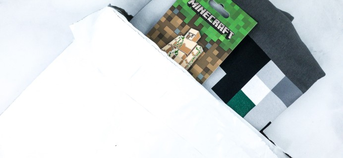 Minecraft T-Shirt Club February 2020 Subscription Box Review + Coupon!