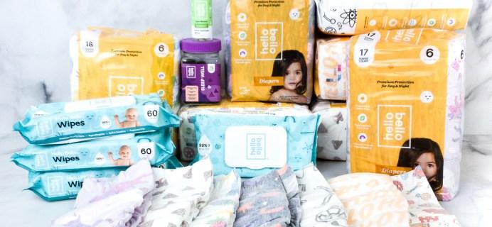 Hello Bello Diaper Subscription Review + Coupon!