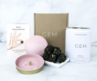 GEM Daily Vitamin Subscription Review + Coupon!