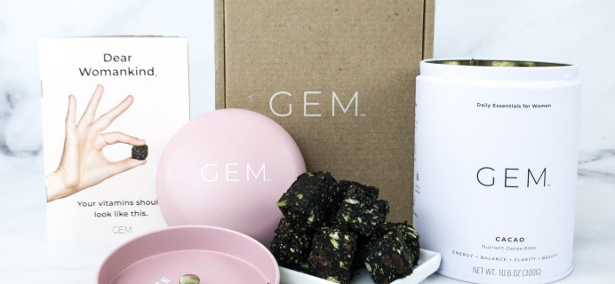 GEM Daily Vitamin Subscription Review + Coupon