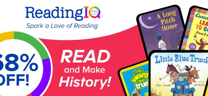 ReadingIQ President's Day Sale: Get an Annual Subscription For Just $29.99!