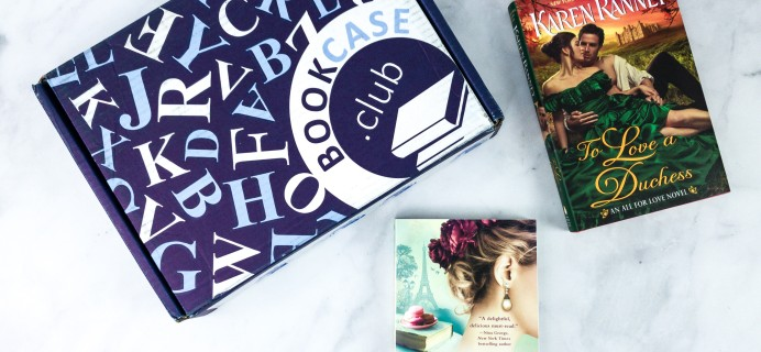 BookCase Club February 2020 Subscription Box Review & 50% Off Coupon – Booking For Love