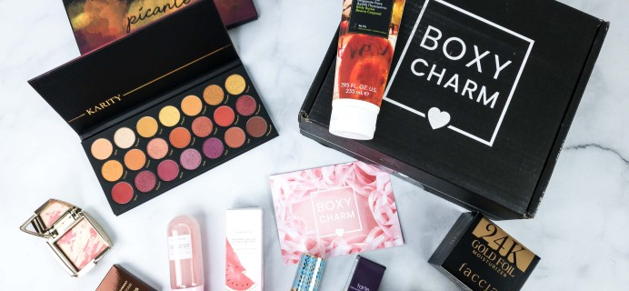 BOXYCHARM Premium February 2020 Review + Coupon
