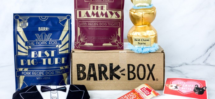 Barkbox February 2020 Subscription Box Review + Coupon