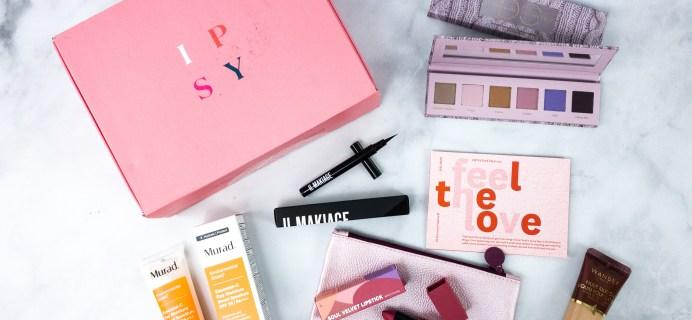 Ipsy Glambag Plus February 2020 Review