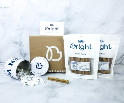 Bark Bright Dental Subscription Box Review