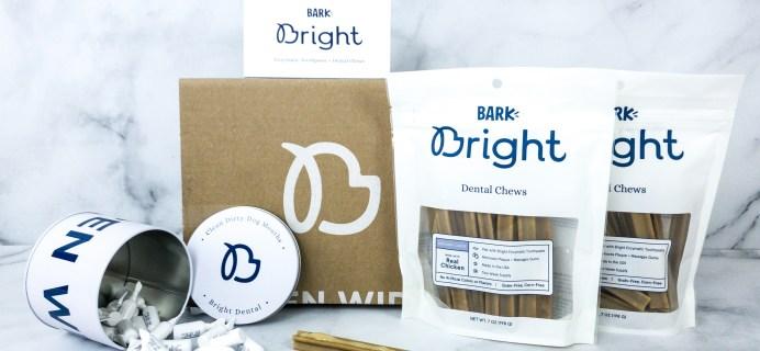 Bark Bright Dental Subscription Box Review