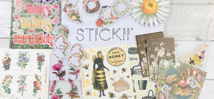 STICKII Club February 2020 Subscription Box Review – Retro Pack!
