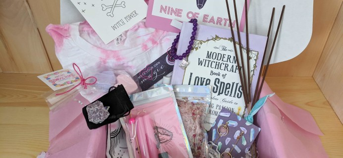 Nine Of Earth February 2020 Subscription Box Review + Coupon