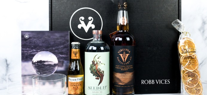 Robb Vices January 2020 Subscription Box Review