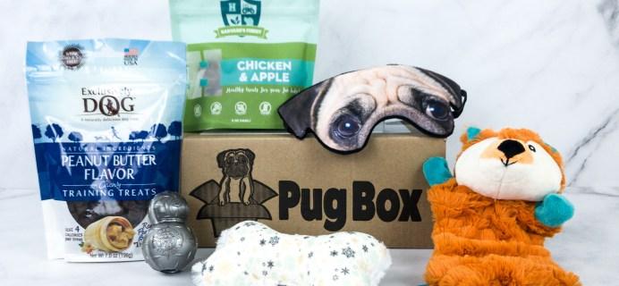 Pug Box January 2020 Subscription Box Review + Coupon!