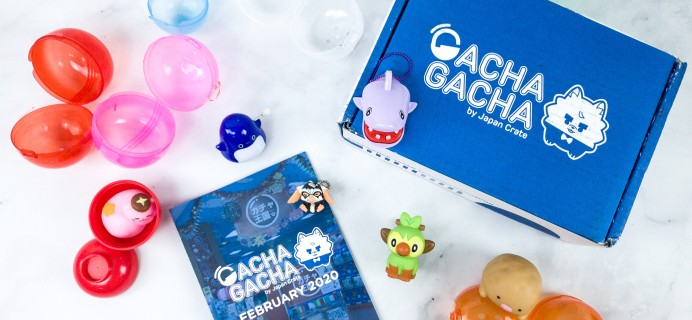 Gacha Gacha Crate February 2020 Subscription Box Review + Coupon