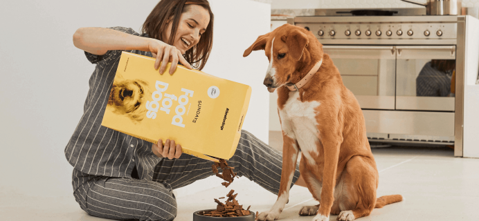 Sundays – Review? Dog Food Subscription + Coupon!