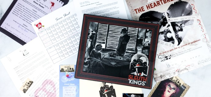 Sleuth Kings Subscription Box Review + Coupons – Case 029 LOVE HURTS