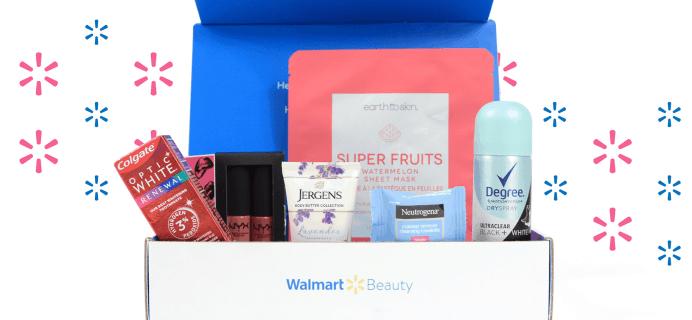 Walmart Beauty Box Winter 2019-2020 Box Full Spoilers!