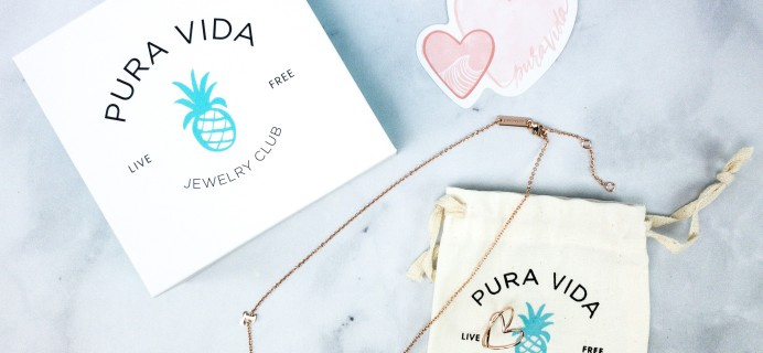 Pura Vida Jewelry Club February 2020 Subscription Box Review + Coupon!