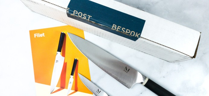 Bespoke Post FILET Box Review & Coupon