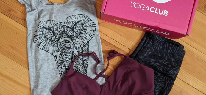 YogaClub Subscription Box Review + Coupon – February 2020