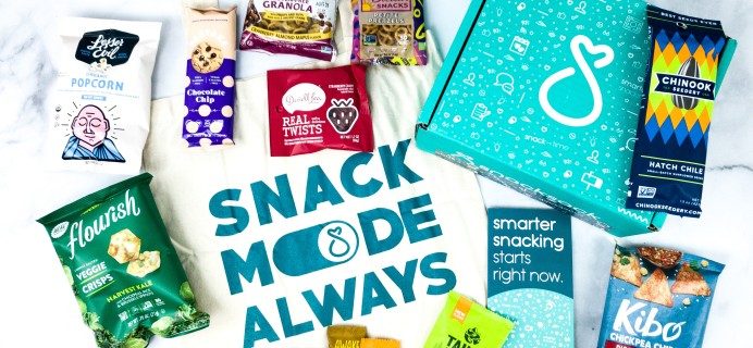 Snack Sack February 2020 Subscription Box Review & Coupon