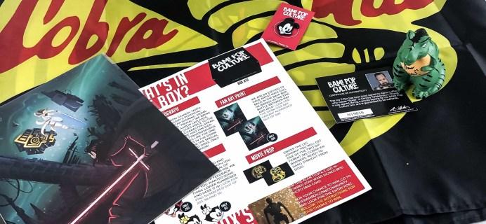 The BAM! POP CULTURE BOX November 2019 Subscription Box Review & Coupon