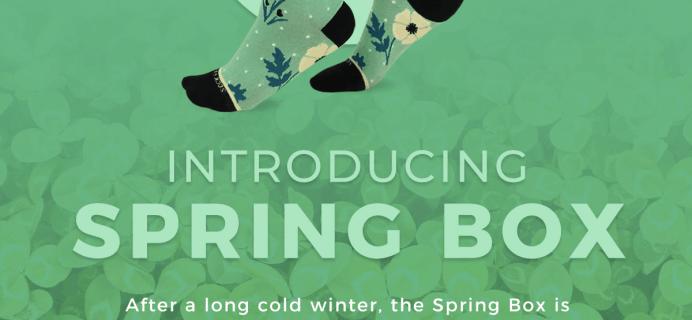 Sock Fancy Spring 2020 Seasonal Box Full Spoilers + Coupon!