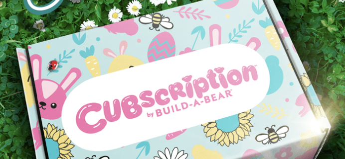 Cubscription by Build-A-Bear Spring 2020 Spoiler #2!