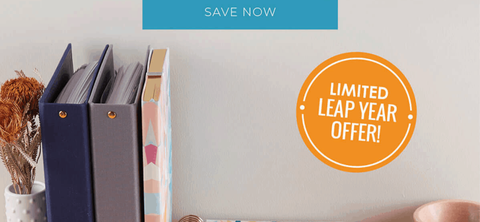 Erin Condren Leap Day Sale: FREE Sticker Book with 2020 Planner Purchase!
