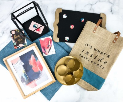 Decocrated Spring 2020 Subscription Box Review + Coupon