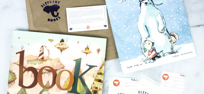 Elephant Books March 2020 Subscription Box Reviews – PICTURE BOOKS