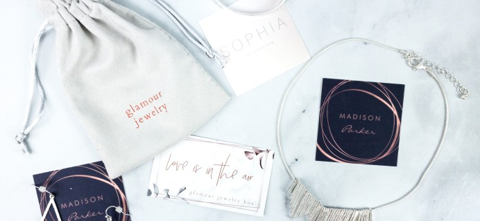 Glamour Jewelry Box February 2020 Subscription Box Review + Coupon