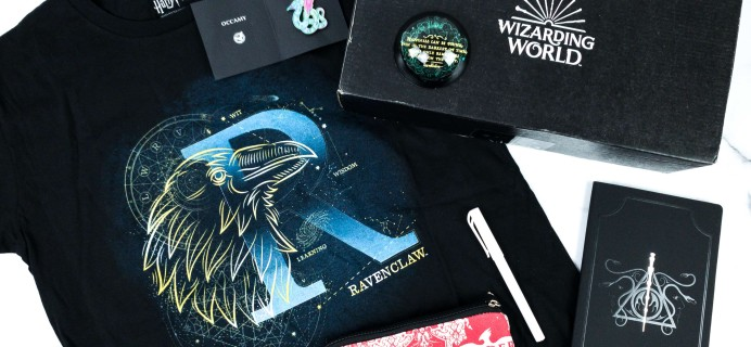 JK Rowling's Wizarding World Crate September 2019 Review + Coupon
