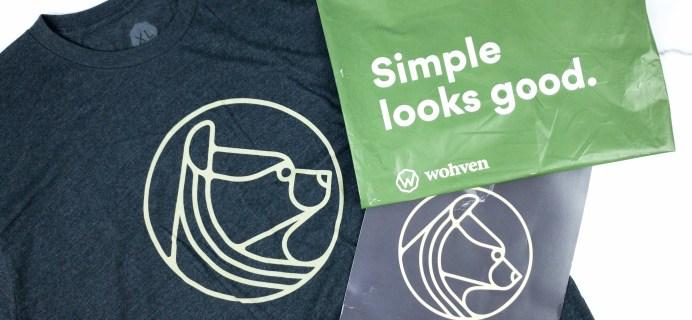 Wohven Men T-Shirt  Subscription Review & Coupon – February 2020