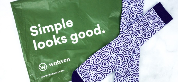 Wohven Socks Subscription February 2020 Review + Coupon!